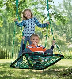 Big Backyard Playsets - Deluxe Platform Swing. I want one of these to hang over the lake. How fun!!!
