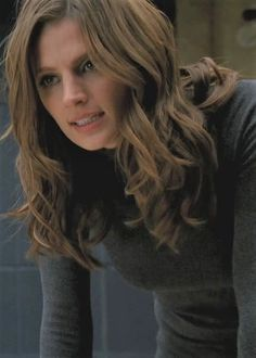 Castle Beckett, Castle Tv, Great Tv Shows, Smallville, Stana Katic, Woman Crush, Nathan Fillion, Long Hair Styles, Female