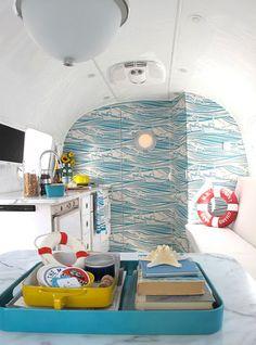Especial Caravanas Vol.2: Una caravana muy marinera | Decorar tu casa es facilisimo.com