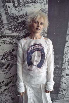 Punk scene, London, Britain - 1970s<br>Vivienne Westwood at her boutique Seditionaries in London, June 1977