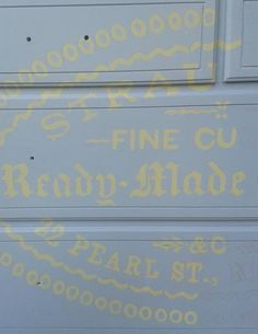 Holy Craft: image transfer on painted dresser