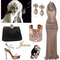 """Jean Harlow"" by connie-collier-cain on Polyvore"