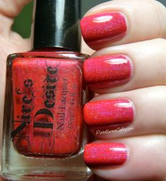 Nail of the Day: Nire's Desire - Jezabel
