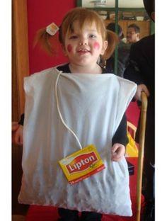 Homemade Halloween Costumes - baby Lipton! Lol get ready future child of mine!