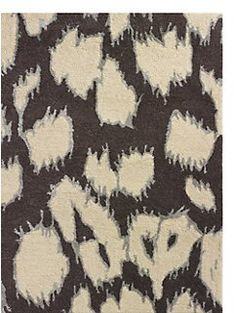 leopard ikat rug by kate spade new york