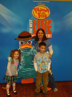 Phineas and Ferb at the Hanover Theatre