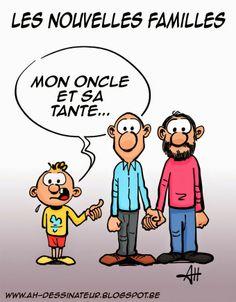AH dessinateur: Mon oncle et sa tante