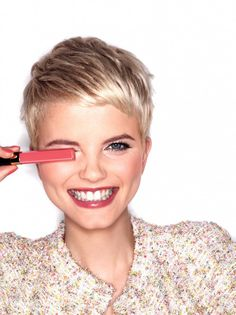 Merethe Hopland by Solve Sundsbo for the Chanel Beauty Spring/Summer 2012 Campaign