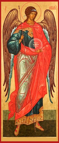 Icon of the Archangel Michael #angels #icons