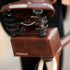 #Bicycle Seat Bag by Walnut Studiolo