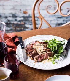 Steak Diane - Gourmet Traveller