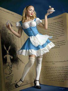 Alice cosplay