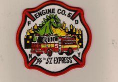 "FDNY Engine Company 5  ""14th Street Express""  www.facebook.com/firestore"