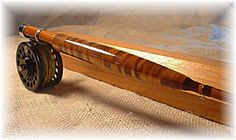 Stunning grip on this beautiful bamboo fly rod! Fishing Rod Brands, Custom Fishing Rods, Fishing Rod Rack, Fishing Rod Storage, Fishing Rods And Reels, Fly Fishing Rods, Fly Rods, Pike Fishing, Trout Fishing