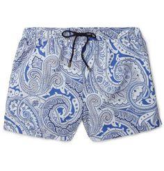 Etro Mid-Length Paisley-Print Swim Shorts  | MR PORTER