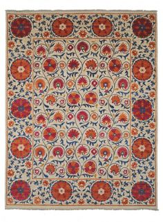 Pomegranate Ivory by The Rug Company. Love this!