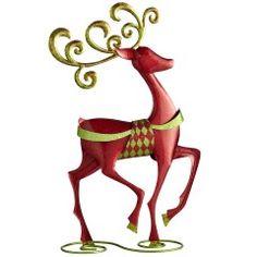 Reindeer decor..