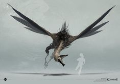 Discover recipes, home ideas, style inspiration and other ideas to try. Concept Art Alien, Creature Concept Art, Creature Design, Monster Design, Monster Art, Alien Creatures, Mythical Creatures, Flying Monsters, Call Of Cthulhu Rpg