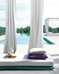 Amazing outdoor fabrics by UVPRO. Want it? We can do it! http://www.decorteamus.com/ #outdoor #drapery