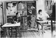 Georgii and Vladimir Stenberg - Soviet artists and brothers whose movie poster designs in the 1920s and 1930s came to be as reputed as the films they depicted and still influence graphic design today.