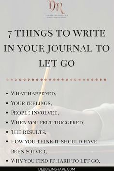 Journaling can be a powerful form of therapy and an outlet for feelings to manifest themselves. Next time you're dealing with negative emotions surrounding an event try journaling. Coaching, Vie Motivation, Fitness Motivation, Journal Writing Prompts, Good Vibe, Self Development, Personal Development, Journal Inspiration, Self Improvement
