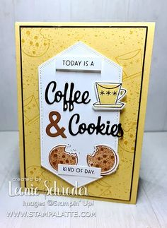 New Things To Try, Coffee Cards, Paper Crafts, Card Crafts, Beautiful Handmade Cards, Stamping Up Cards, Love You More Than, Creative Cards, Cool Cards
