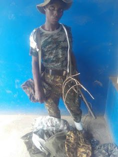 See Fake Soldier Arrested In Ogun State (Pictured)