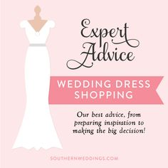 our best advice for wedding dress shopping