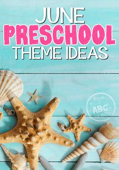 Fishing, camping, and so much more! These June preschool themes are going to keep your little ones learning all month long! Summer Preschool Themes, Preschool Literacy, Preschool Lesson Plans, Preschool Printables, Preschool Activities, Outdoor Activities For Kids, Fun Crafts For Kids, Sun Crafts, Early Learning