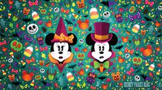 """As our #WonderFALLDisney season of fun continues here at the Walt Disney World, we have a brand new digital/desktop wallpaper to share with you today. This design celebrates everything that's visually beautiful about """"fall"""" and was created by"""