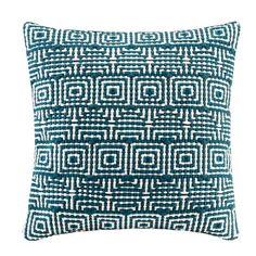 Madison Park Geometric Handloom Square Pillow & Reviews | Wayfair