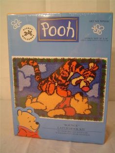 "Winnie the Pooh Latch Hook Kit ""Bounce"" Disney http://www.amazon.com/dp/B00E0NGDTU/ref=cm_sw_r_pi_dp_Wj81tb0MGVWJGZA2"