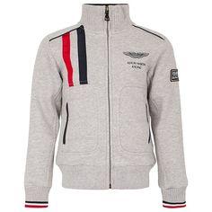 Mikiny s kapucou · Hackett Aston Martin Zip Jacket Pánská Móda 8360b3242a8