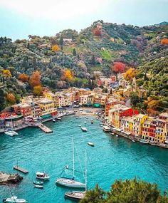 Portofino in Italy.