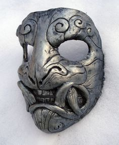 Mask in snow by missmonster.deviantart.com on @deviantART