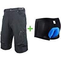 Blike Men's Outdoor Sports MTB Cycling Shorts Climbing Loose Fit Shorts Tactical T Shirts, Cycling Shorts, Shorts With Pockets, Workout Shorts, Bmx, Mountain Biking, Loose Fit, Climbing
