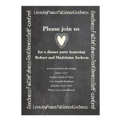Fruit of the Spirit Chalkboard Anniversary Party Personalized Invite We provide you all shopping site and all informations in our go to store link. You will see low prices onHow to          Fruit of the Spirit Chalkboard Anniversary Party Personalized Invite Here a great deal...