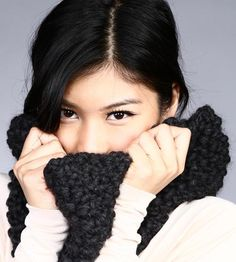 The Casey Wool Cowl Scarf by Continental Knit on Scoutmob Shoppe
