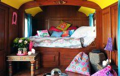 Hotel Mas de la Fouque - Camargue Cutest transformed hippie wagon!!!