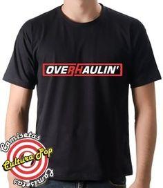 Camiseta Estampada Overhaulin' Super Carros. - comprar online