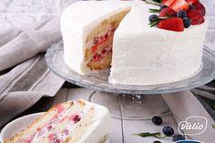 Торт — пошаговый рецепт приготовления с фото в домашних условиях Vanilla Cake, Desserts, Recipes, Food, Tailgate Desserts, Deserts, Meals, Dessert, Eten