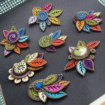 Zipper brooches - an album on Flickr