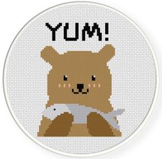 FREE for Jan 19th 2015 Only - Yum! Cross Stitch Pattern