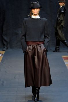 Sfilata Hermès Paris - Collezioni Autunno Inverno 2012-13 - Vogue