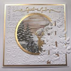 Holiday Cards, Christmas Cards, Scrapbook Cards, Branches, Ladybug, Cardmaking, December, Creations, Shabby