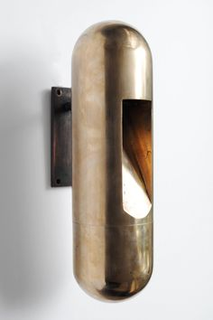 Bronze Applique Wall Lamp by Rick Owens | See more antique and modern Wall Lights and Sconces at http://www.1stdibs.com/furniture/lighting/sconces-wall-lights
