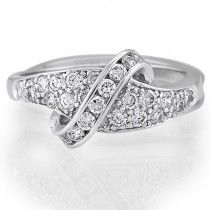 Sterling Silver Round Cubic Zirconia CZ Accent Ring