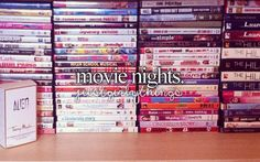 <3 movie nights... we need to have one!!! @Paige Leland