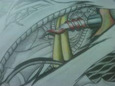 Biomechanical Sketch