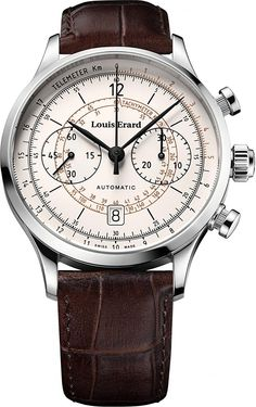 Amazon.com: Louis Erard 1931 Collection Swiss Automatic White Dial Telemeter Men's Watch 71245AA01.BDC21: Louis Erard: Watches